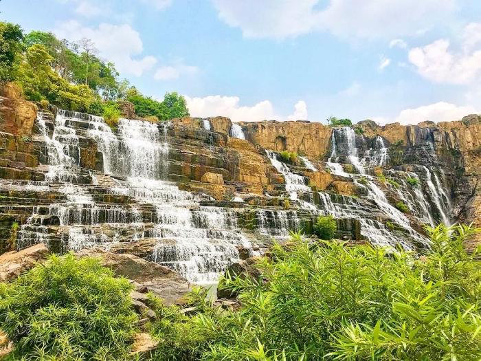 Thác Pongour - một trong những dòng thác tuyệt đẹp ở Đà Lạt