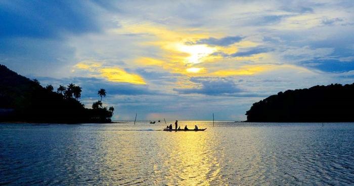 Hoàng hôn trên quần đảo Bà Lụa Kiên Giang