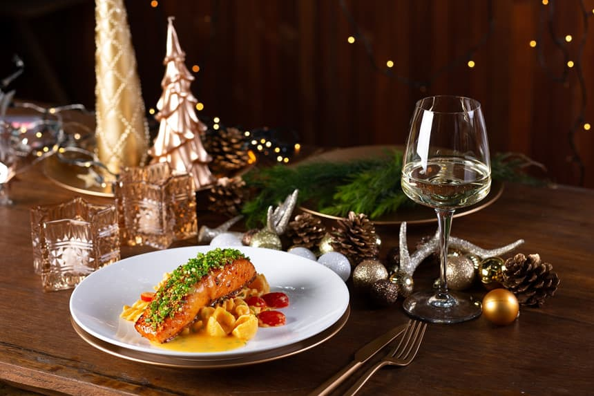 Dạ tiệc Giáng Sinh đúng chất châu Âu giữa lòng Đà Nẵng