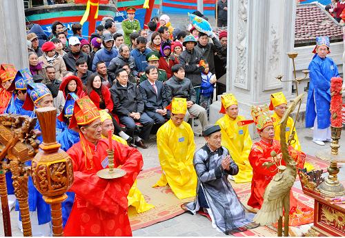 Các nghi lễ trong lễ hội Việt Nam