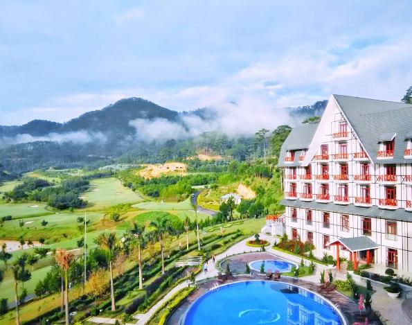 Khu nghỉ dưỡng resort 5 sao Swiss-Belresort Tuyền Lâm Đà Lạt